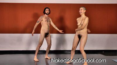 Naked Yoga, Nude Yoga Class Video